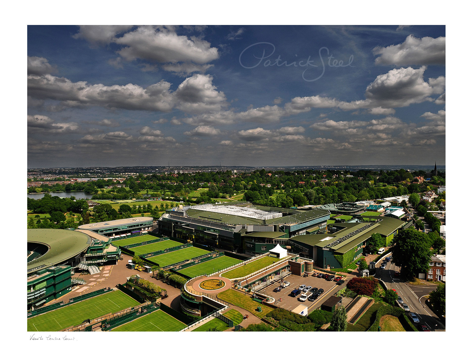 Title: View to Centre Court, Wimbledon Tennis | <a href=