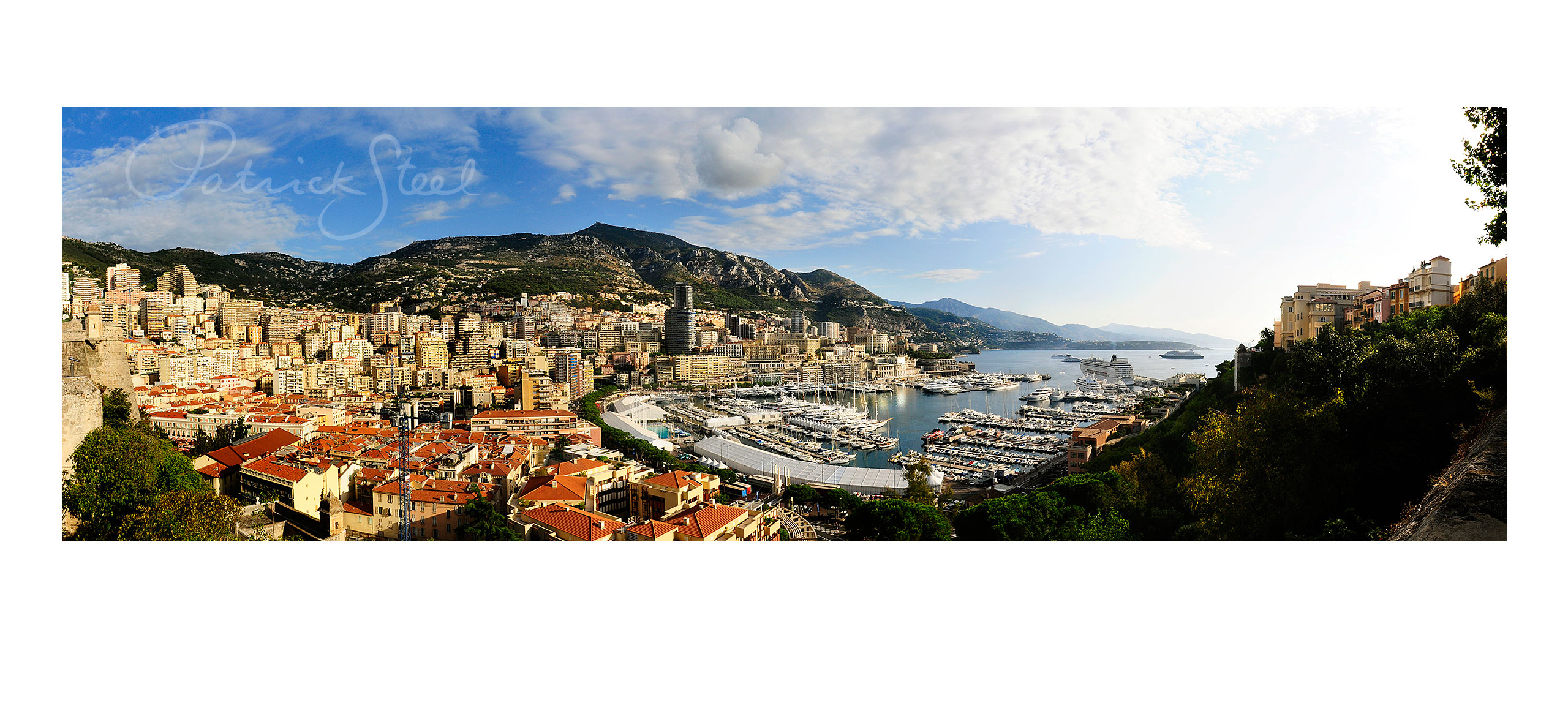 photograph of port hercule monaco by landscape photographer patrick steel