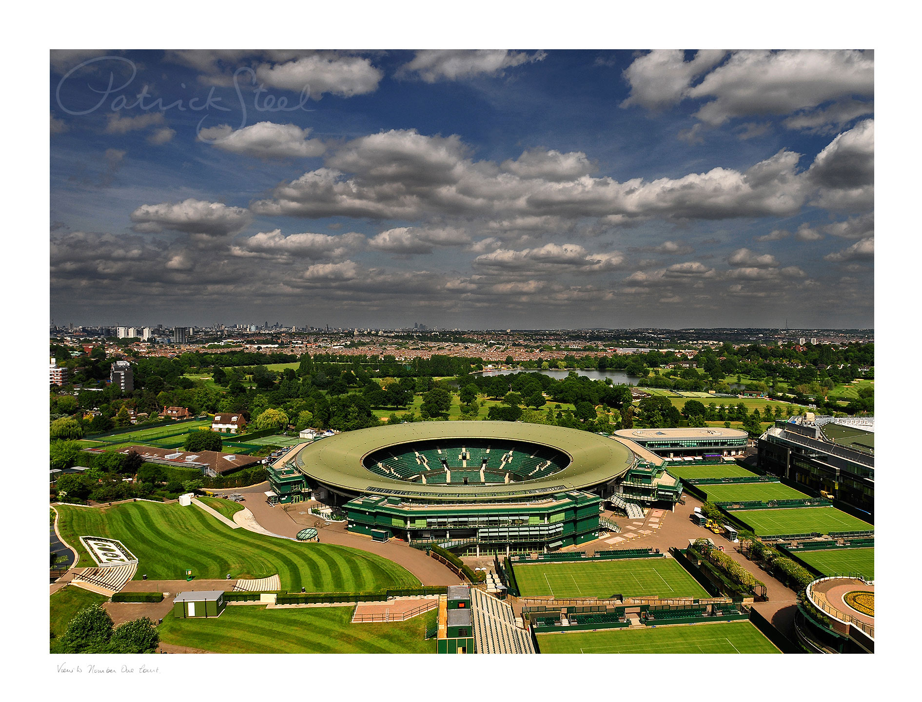 Title: View to No.1 Court, Wimbledon Tennis | <a href=