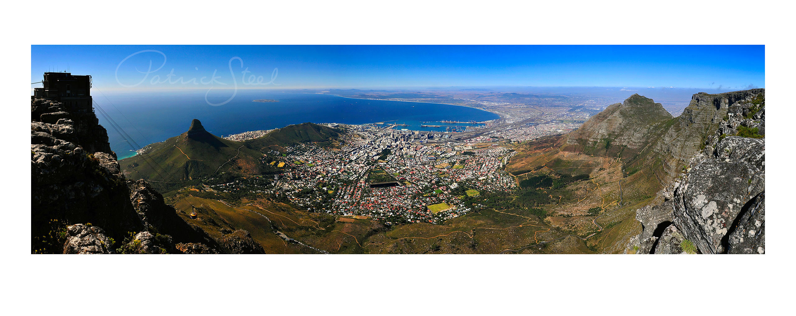 Cape Town, South Africa, View from Table Mountain, I | <a href=