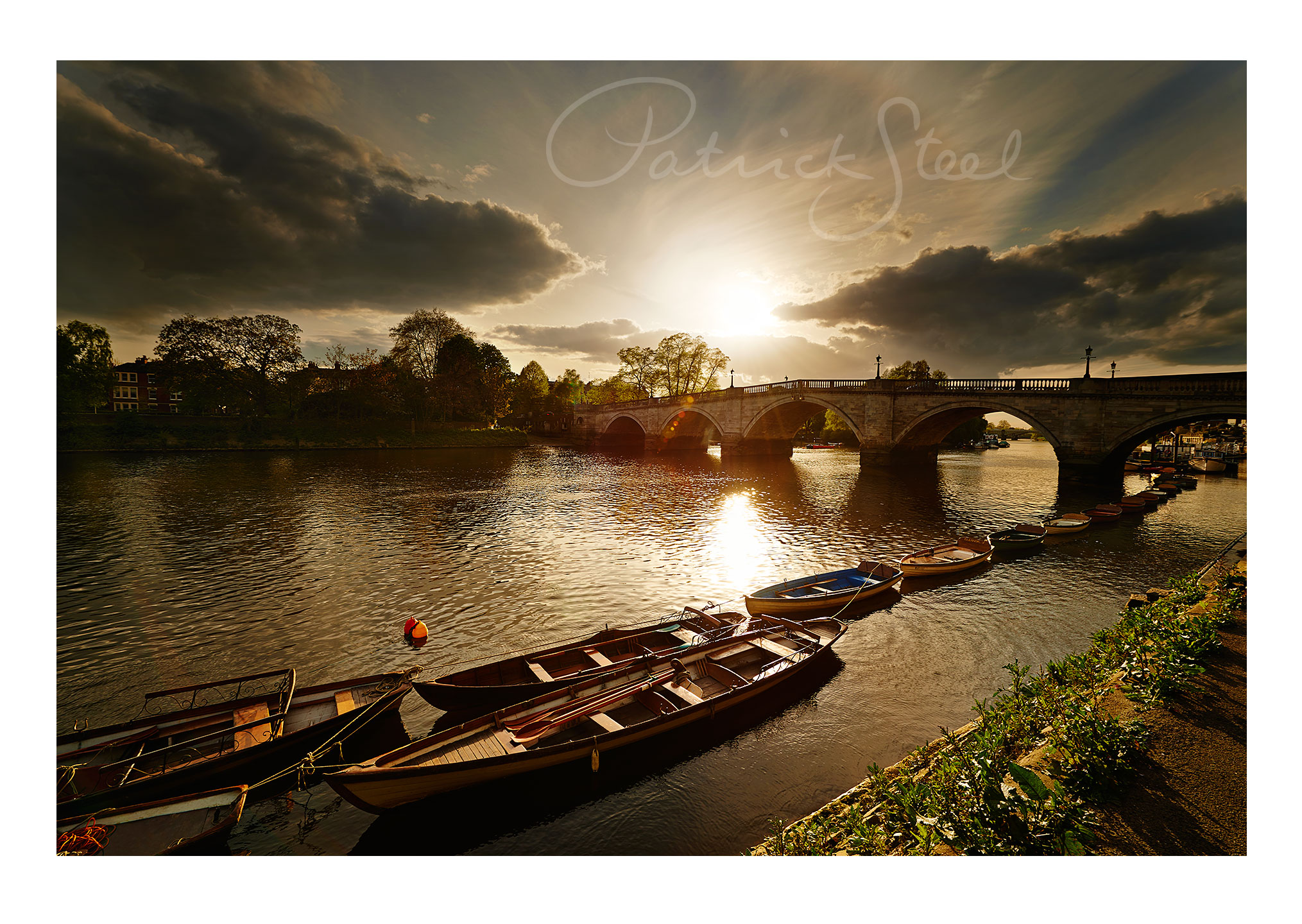 photograph richmond bridge richmond upon thames by photo landscape photograph patrick steel