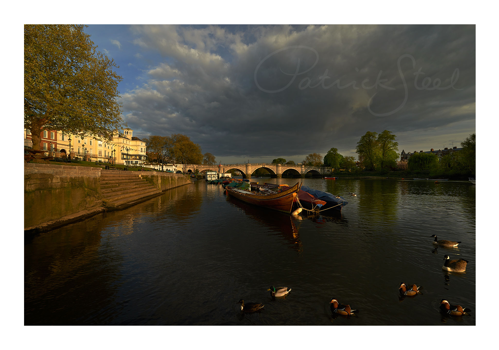 richmond bridge richmond upon thames photo landscape photograph