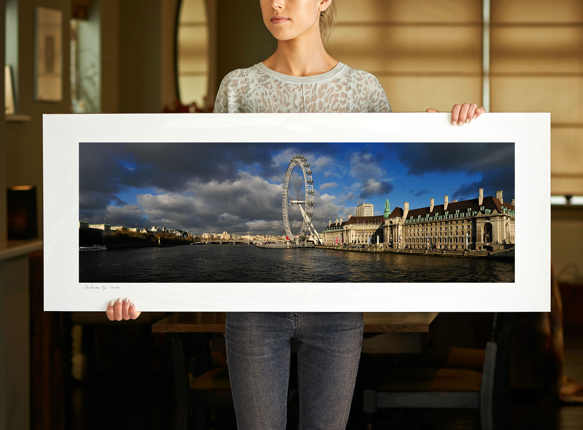 A 40 inch sample of: The London Eye | <a href=