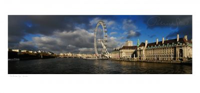 photograph of the london eye by professional landscape photographer patrick steel