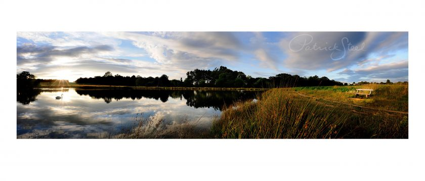Landscape Photography of Richmond Park : Lower Pen Pond at Sunset