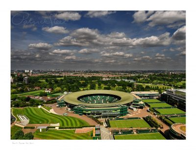 photograph of number one court at wimbledon tennis professional landscape photographer patrick steel