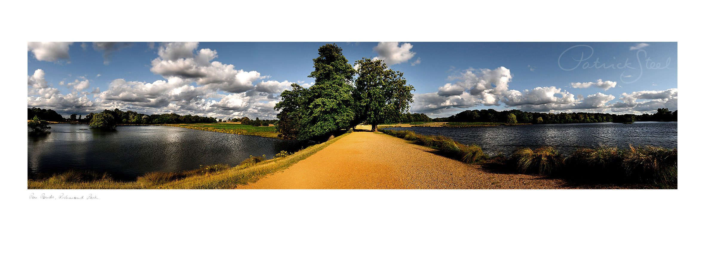 Landscape Photography of Richmond Park : Pen Ponds