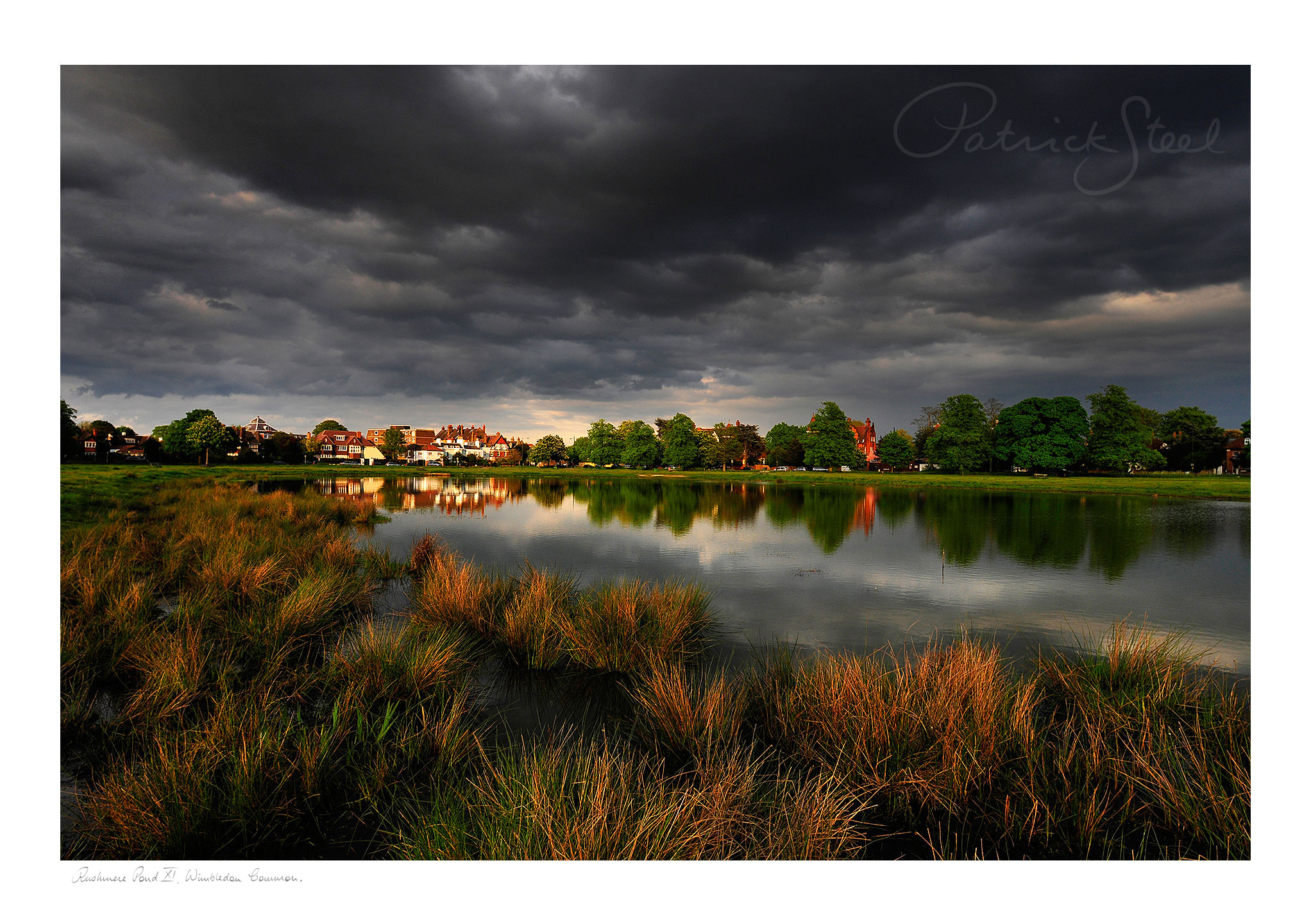 Title: Rushmere Pond XI, Wimbledon Common | <a href=