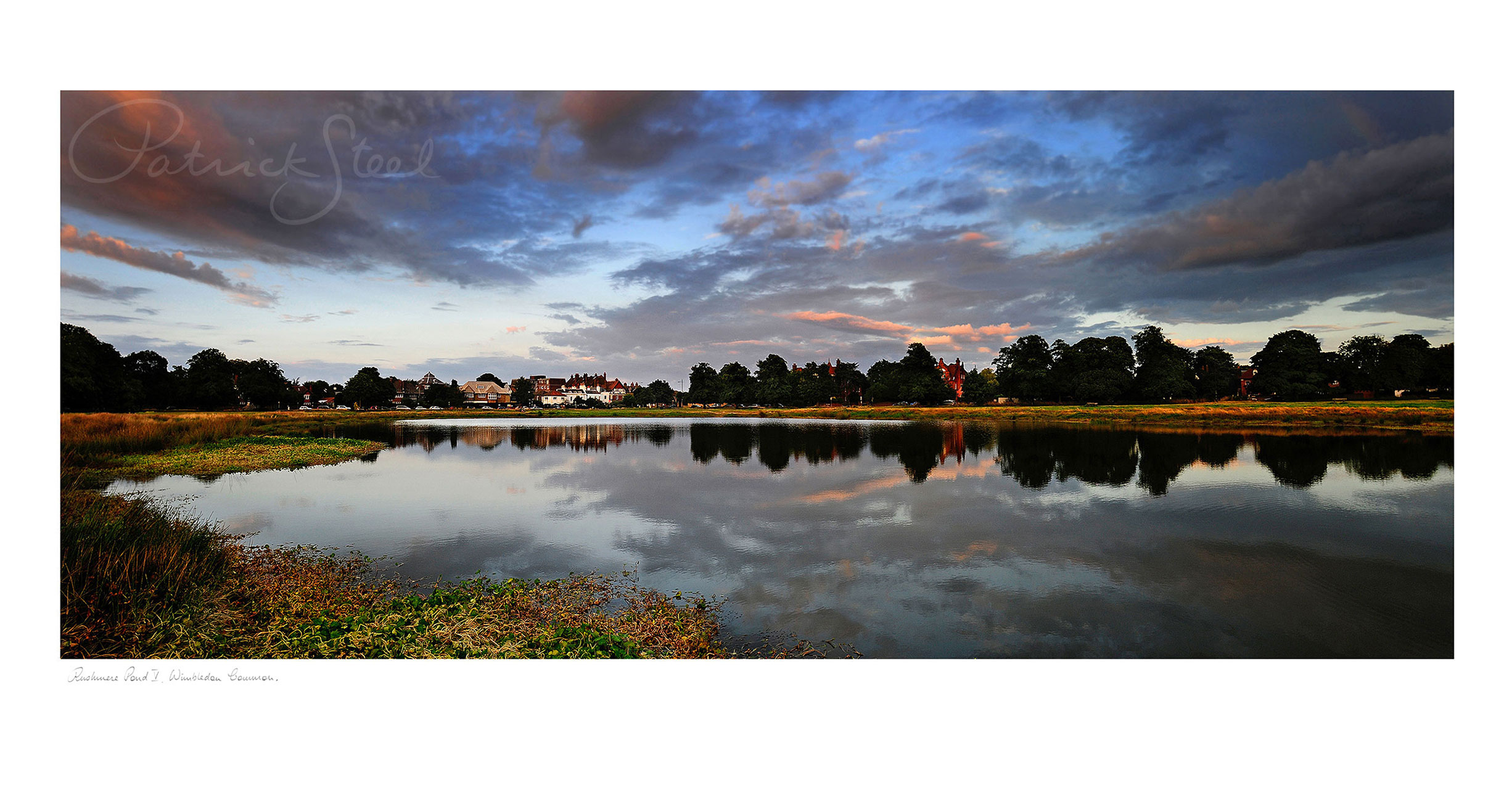 Title: Rushmere Pond V, Wimbledon Common | <a href=