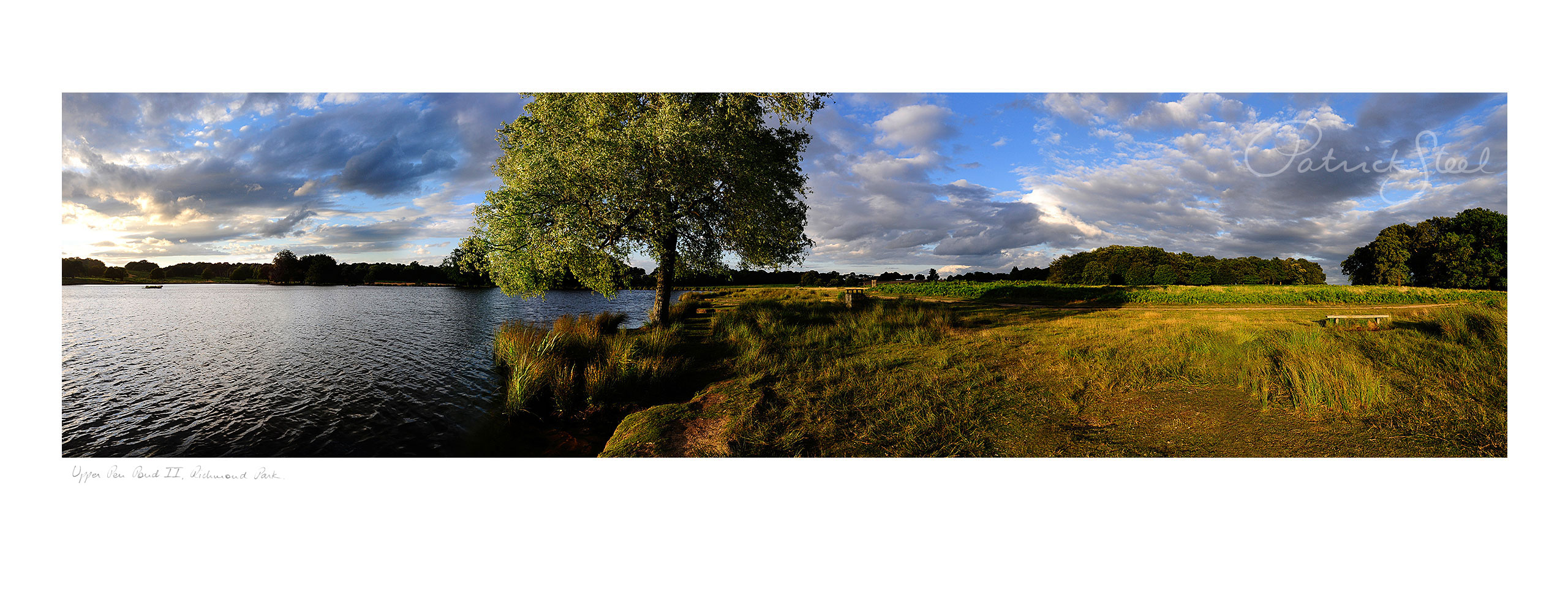 Title: Upper Pen Pond II, Richmond Park | <a href=