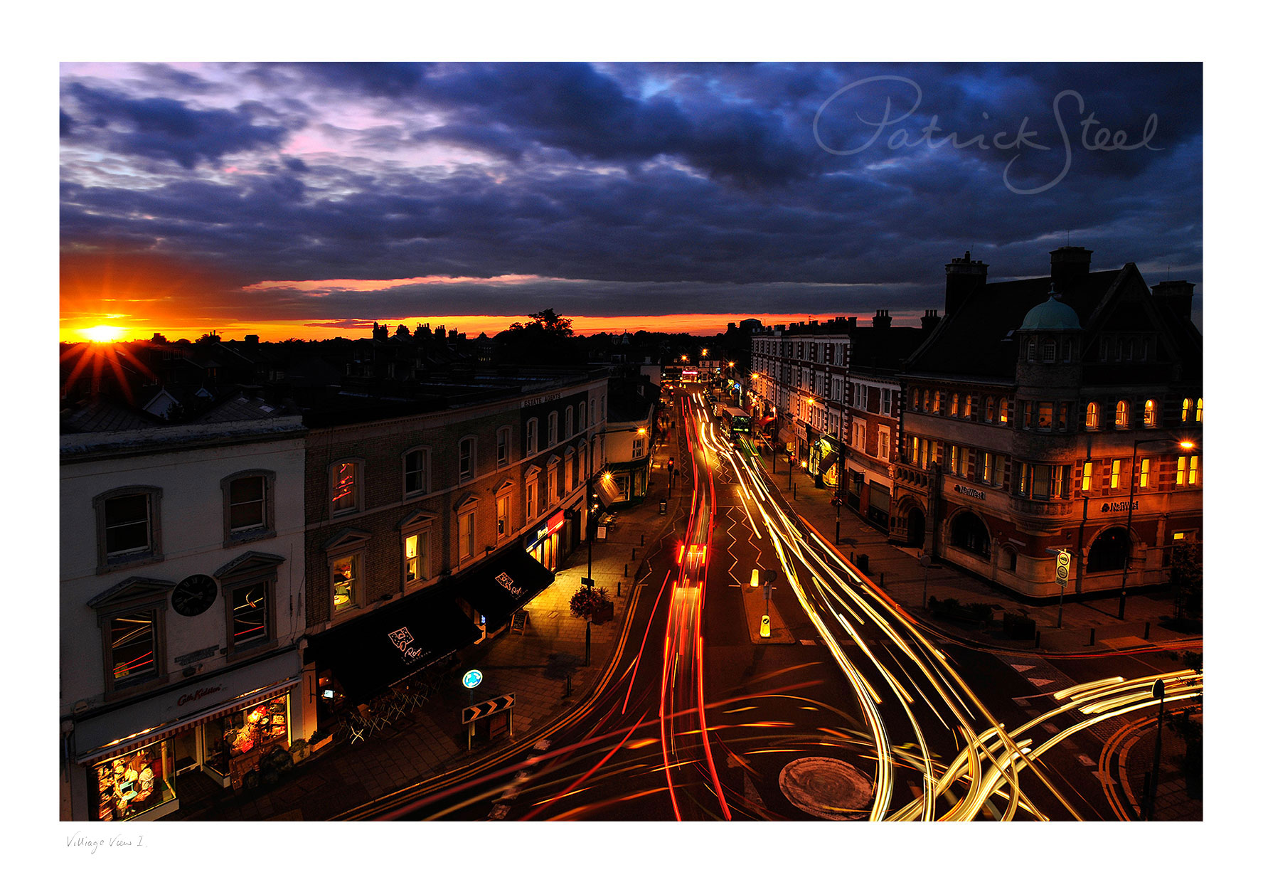Photograph of Wimbledon Village High Street by Patrick Steel