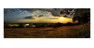 panoramic landscape photograph of richmond hill by professional landscape photographer patrick steel
