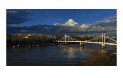 albert bridge london photograph