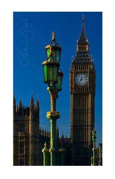 photograph of elizabeth tower big ben westminster london