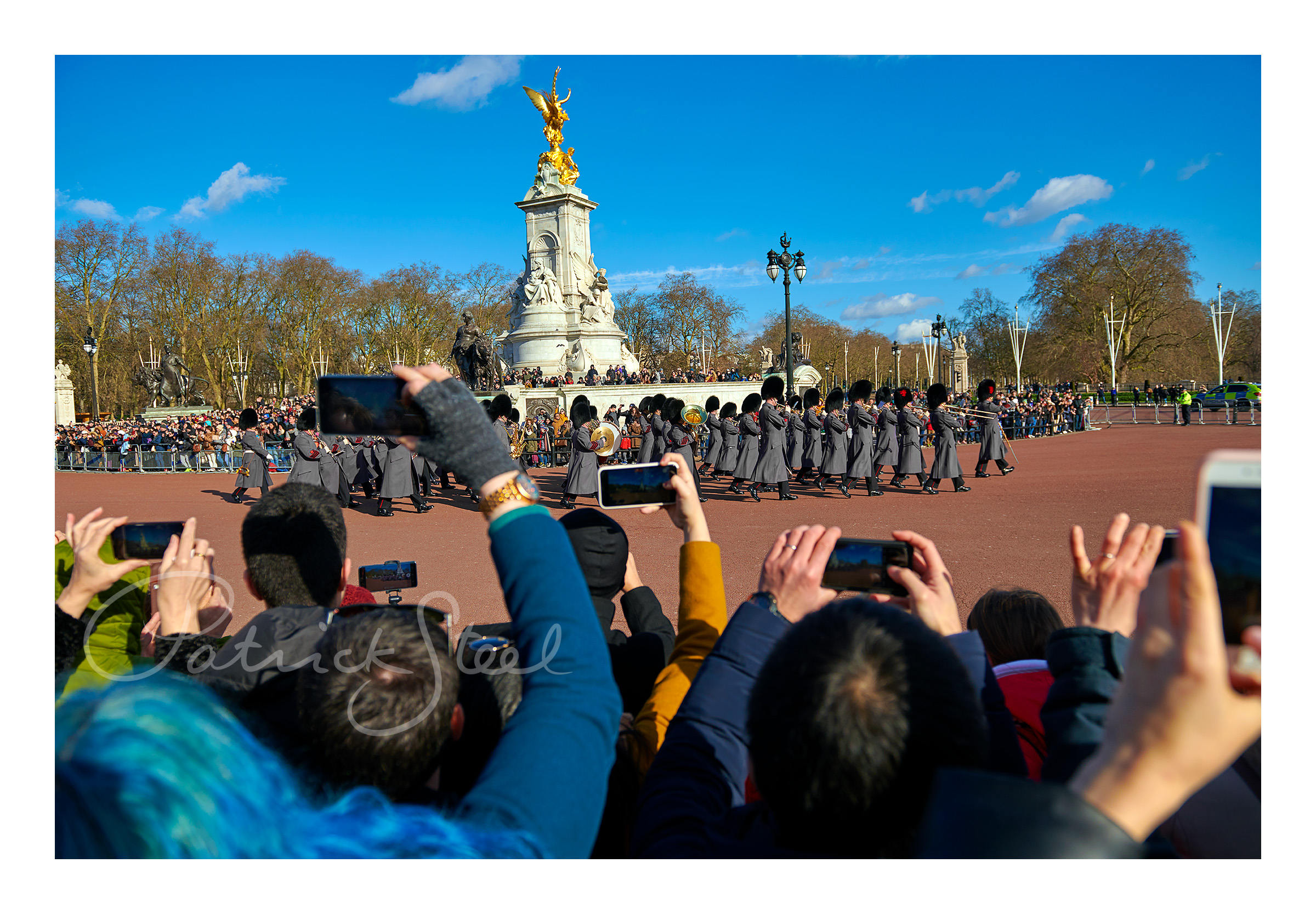 Title: Band of the Coldstream Guards, Victoria Memorial, London | Details coming soon...