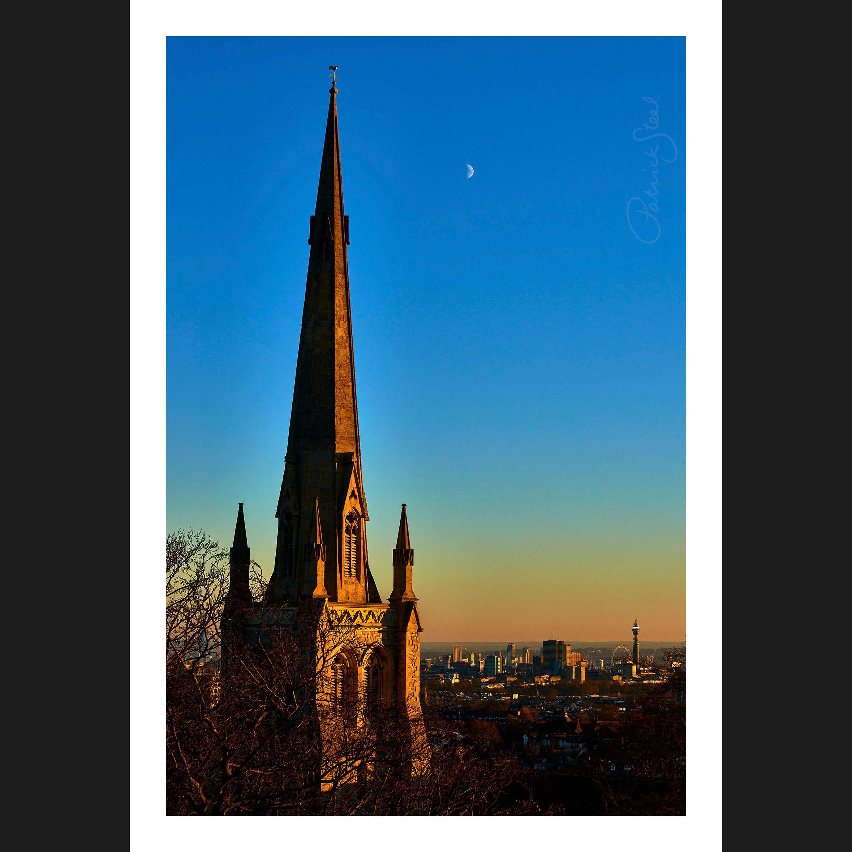 Title: Christ Church Steeple, Hampstead |<a href=