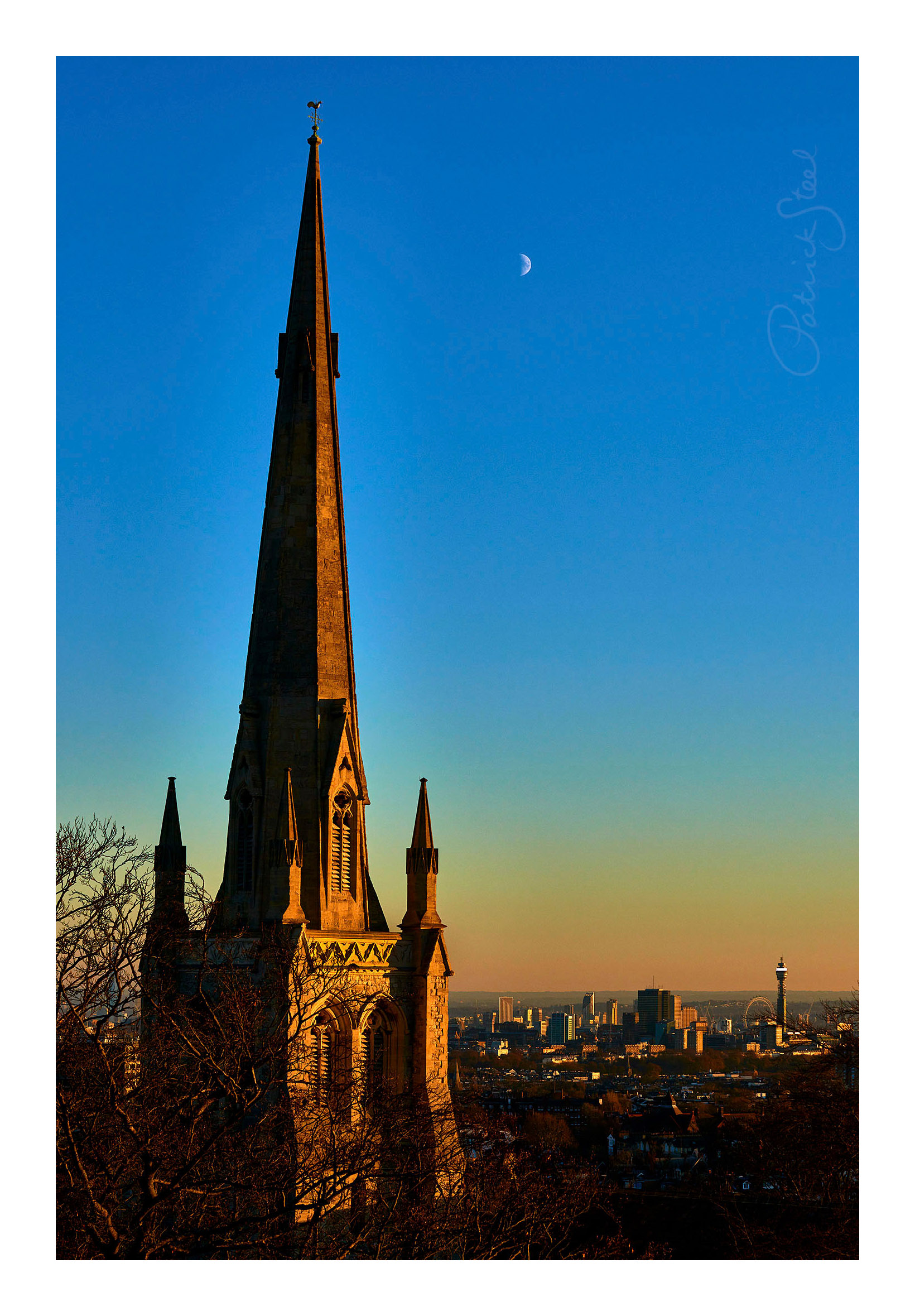 Title: Christ Church Steeple, Hampstead |<a href=