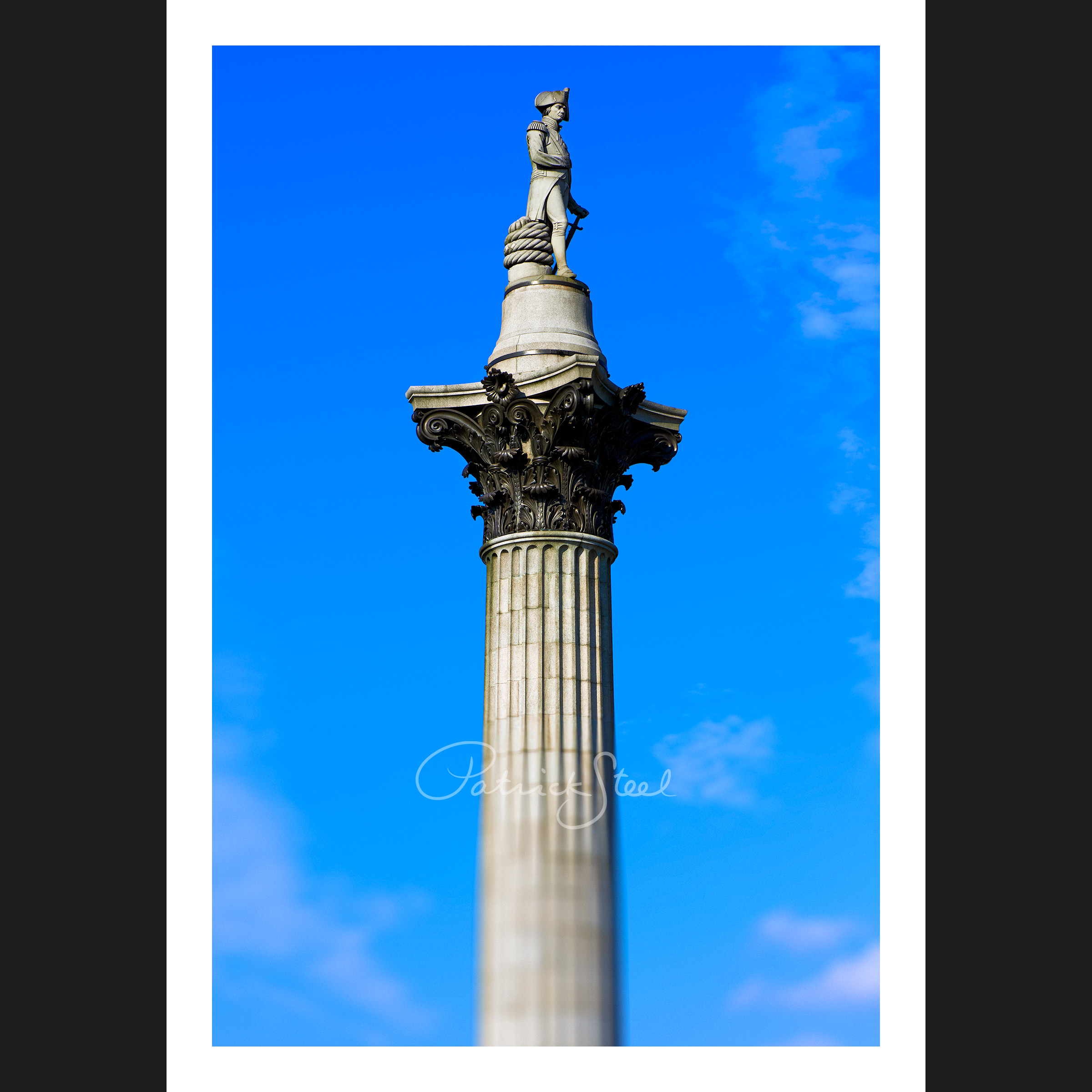 Title: Nelson's Column, Trafalgar Square, London | Colour | <a href=
