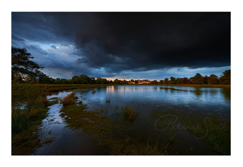 Landscape Photograph of Rushmere Pond, Wimbledon Village